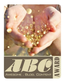 Awesome Blog Content (ABC) Award